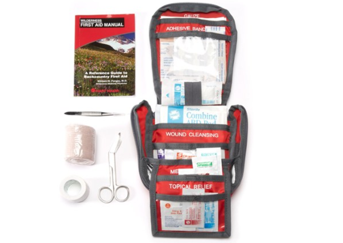 REI Co-op Backpacker Weekend First-Aid Kit